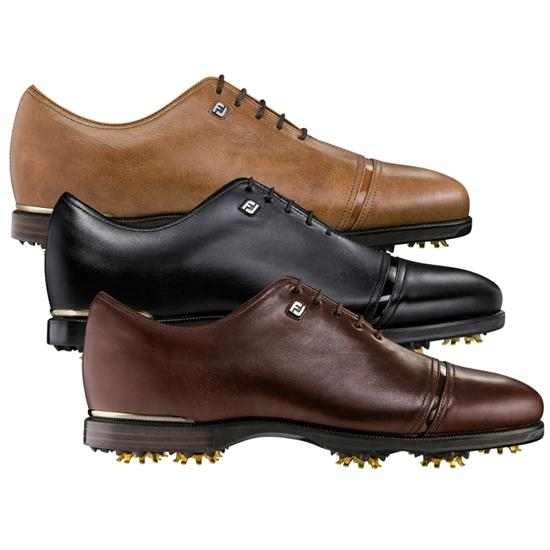 FootJoy Men's Icon Black Golf Shoes - 2015 Model