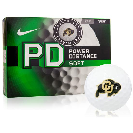 Nike Power Distance Soft Collegiate Golf Balls Closeout