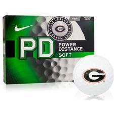 Nike Georgia Bulldogs Power Distance Soft Collegiate Golf Balls Closeout