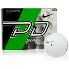 Nike Power Distance Soft Express Logo Golf Balls