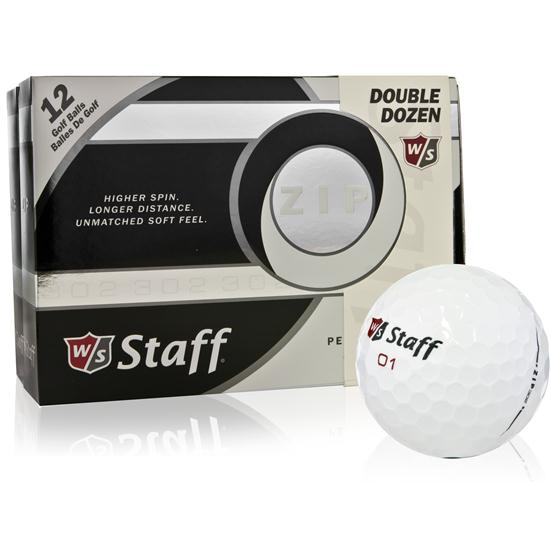 Wilson Staff ZIP Prior Generation Golf Balls - 2 Dozen Pack