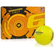 Bridgestone e6 Yellow Personalized Golf Balls