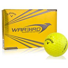 Callaway Golf Prior Generation Warbird Yellow Personalized Golf Balls