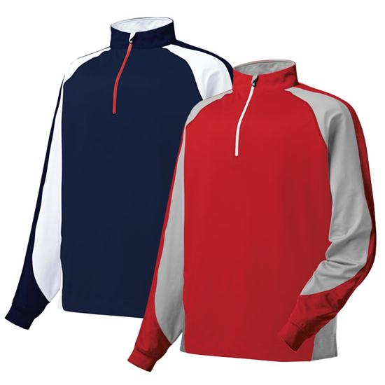 FootJoy Men's Brushed Sport Half-Zip Pullover for Juniors