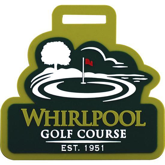 Logo Golf FlexSkin Bag Tags