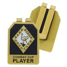 Logo Golf Custom Logo Metal Money Clip