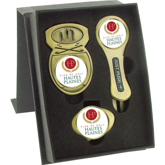 Logo Golf Quick X Gift Set- Style #8
