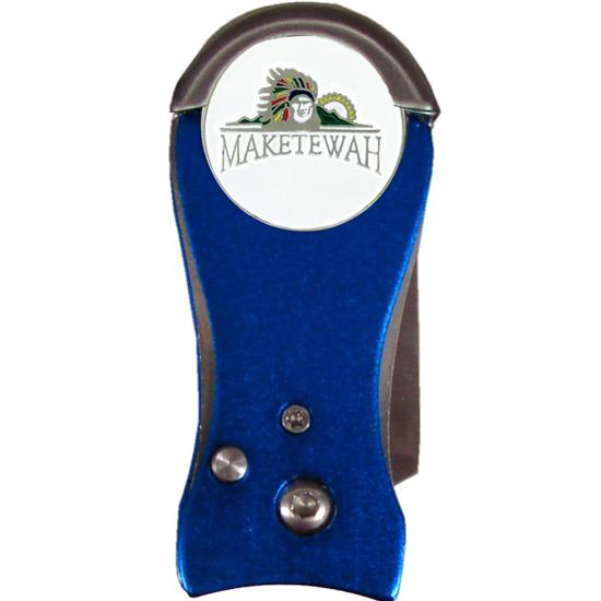 Logo Golf Sheath Folding Divot Tool