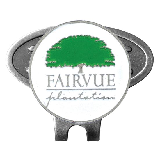 Logo Golf The George Hat Clip