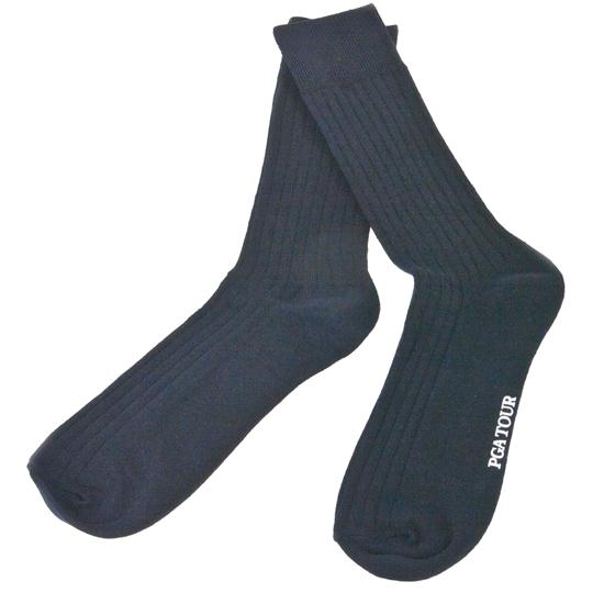 PGA Tour Men's Dress Casual Socks