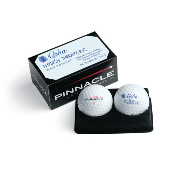 Pinnacle Standard Custom Logo 2-Ball Business Box