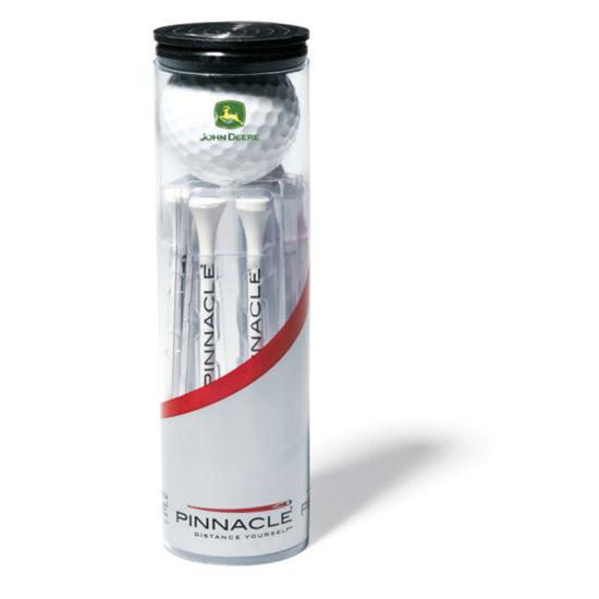 Pinnacle Standard Custom Logo 2-Ball Tube w/ Stock Tees