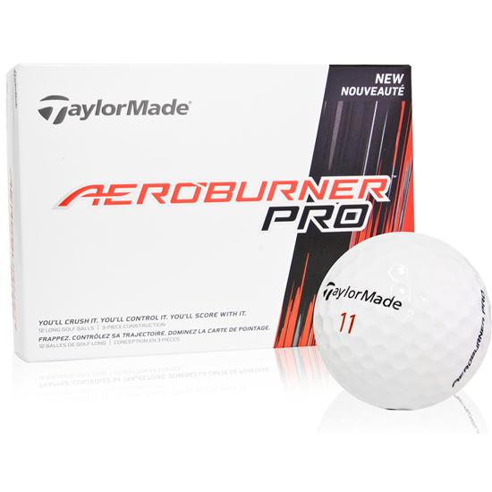Taylor Made Aeroburner Pro Golf Balls