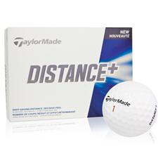 Taylor Made Distance+ Custom Express Logo Golf Balls