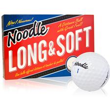 Taylor Made Noodle Long and Soft Personalized Golf Balls - 15 Pack