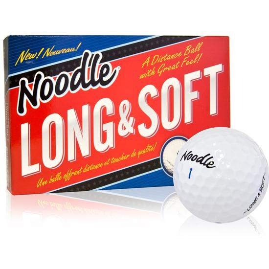 Taylor Made Noodle Long and Soft Golf Balls - 15 Pack