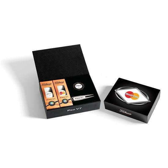 Titleist 6-Ball Presentation Box w/ Custom Cover