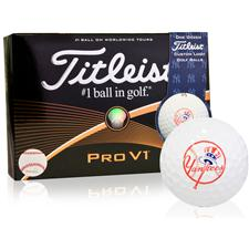 Titleist New York Yankees Pro V1 MLB Golf Balls
