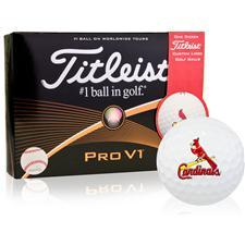 Titleist Pro V1 MLB ID-Align Golf Balls - St. Louis Cardinals
