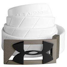 Under Armour UA Silicone Belt - White - Adjustable