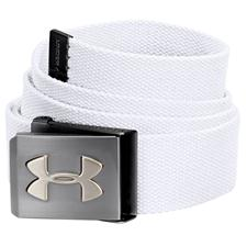 Under Armour UA Webbing Golf Belt - White - Adjustable