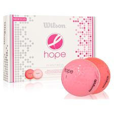 Wilson Hope Pink-Hot Pink Personalized Golf Balls