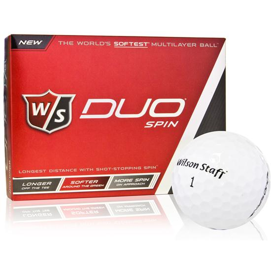 Wilson Staff Duo Spin Golf Balls