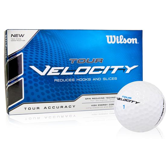 Wilson Tour Velocity Accuracy Golf Balls - 15 Pack