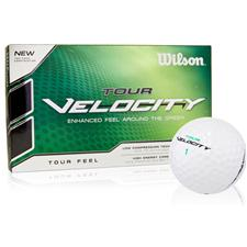 Wilson Tour Velocity Feel Golf Balls - 15 Pack