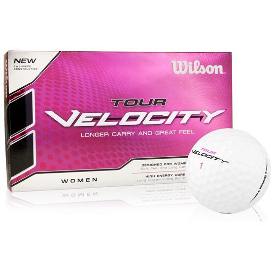 Wilson Tour Velocity Golf Balls for Women - 15 Pack