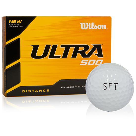 Wilson Ultra 500 Distance SFT Logo Golf Ball
