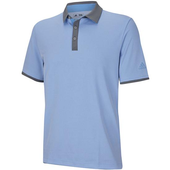 Adidas Men's ClimaCool Birdseye Block Polo Closeout