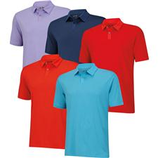 Adidas Men's ClimaCool Tonal Stripe Polo