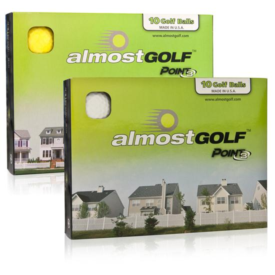 Almost Golf Point3 Practice - Golf Balls
