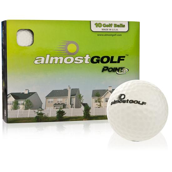 Almost Golf Point3 Practice - Golf Balls