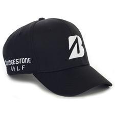 Bridgestone Men's Mesh Fitted Cap - Black - Large/X-Large