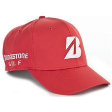 Bridgestone Men's Mesh Fitted Cap - Red - Large/X-Large