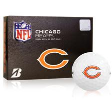 Bridgestone Chicago Bears e6 NFL Golf Balls
