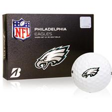 Bridgestone Philadelphia Eagles e6 NFL Golf Balls