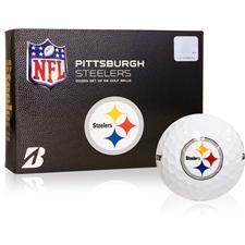 Bridgestone Pittsburgh Steelers e6 NFL Golf Balls