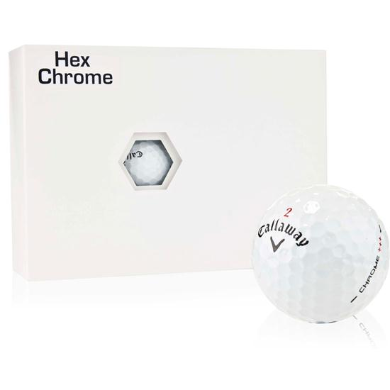 Callaway Golf Tour Select Hex Chrome Plus Golf Balls