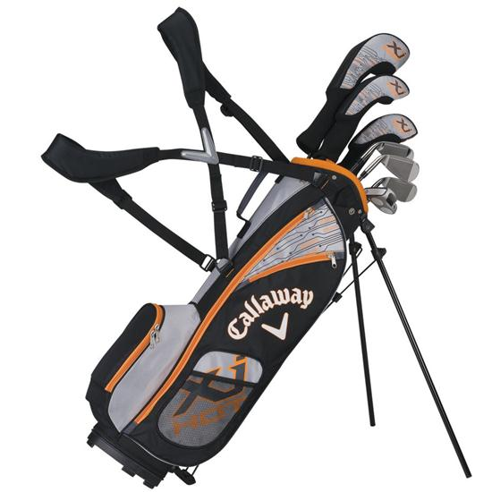 Callaway Golf XJ Hot 8-Piece Junior Set - Boys Age 9-12