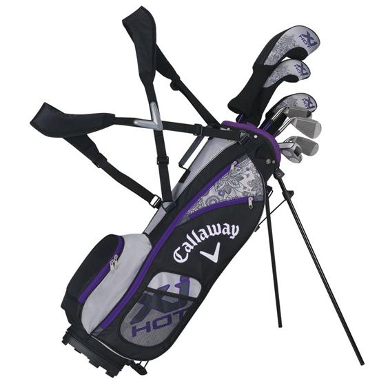Callaway Golf XJ Hot 8-Piece Junior Set - Girls Age 5-8