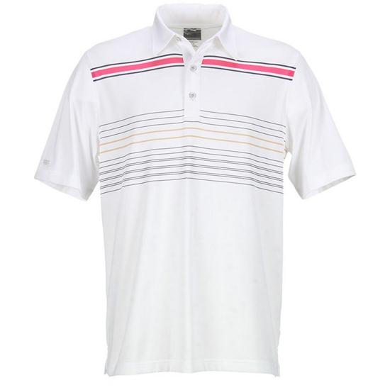 Greg Norman Men's Scandinavian Stripe Polo
