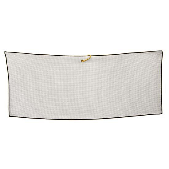 Logo Golf Microfiber Waffle Caddy Size Towel