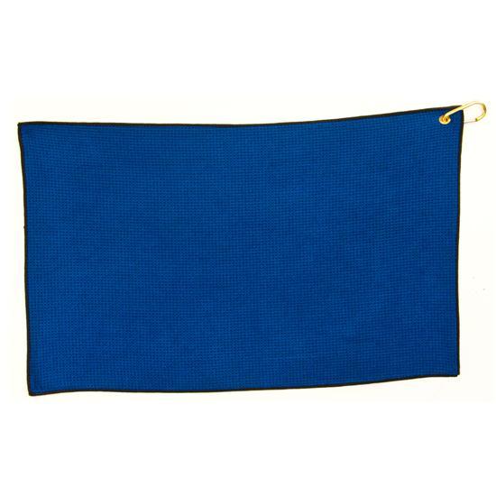 Logo Golf Microfiber Waffle Standard Golf Towel