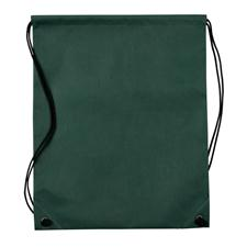 Logo Golf Nonwoven Drawstring Cinch-Up Custom Logo Backpack - Hunter Green