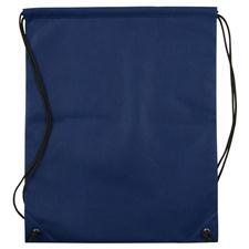 Logo Golf Nonwoven Drawstring Cinch-Up Custom Logo Backpack - Navy Blue
