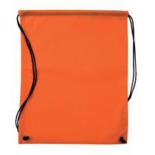 Logo Golf Nonwoven Drawstring Cinch-Up Custom Logo Backpack - Orange