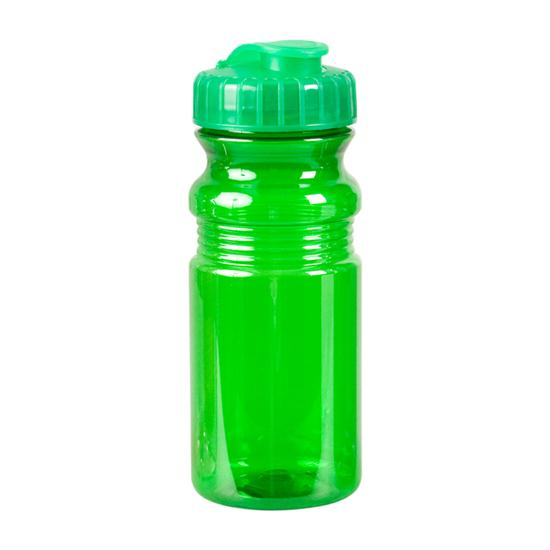 Logo Golf Translucent Sport Bottle with Snap Cap